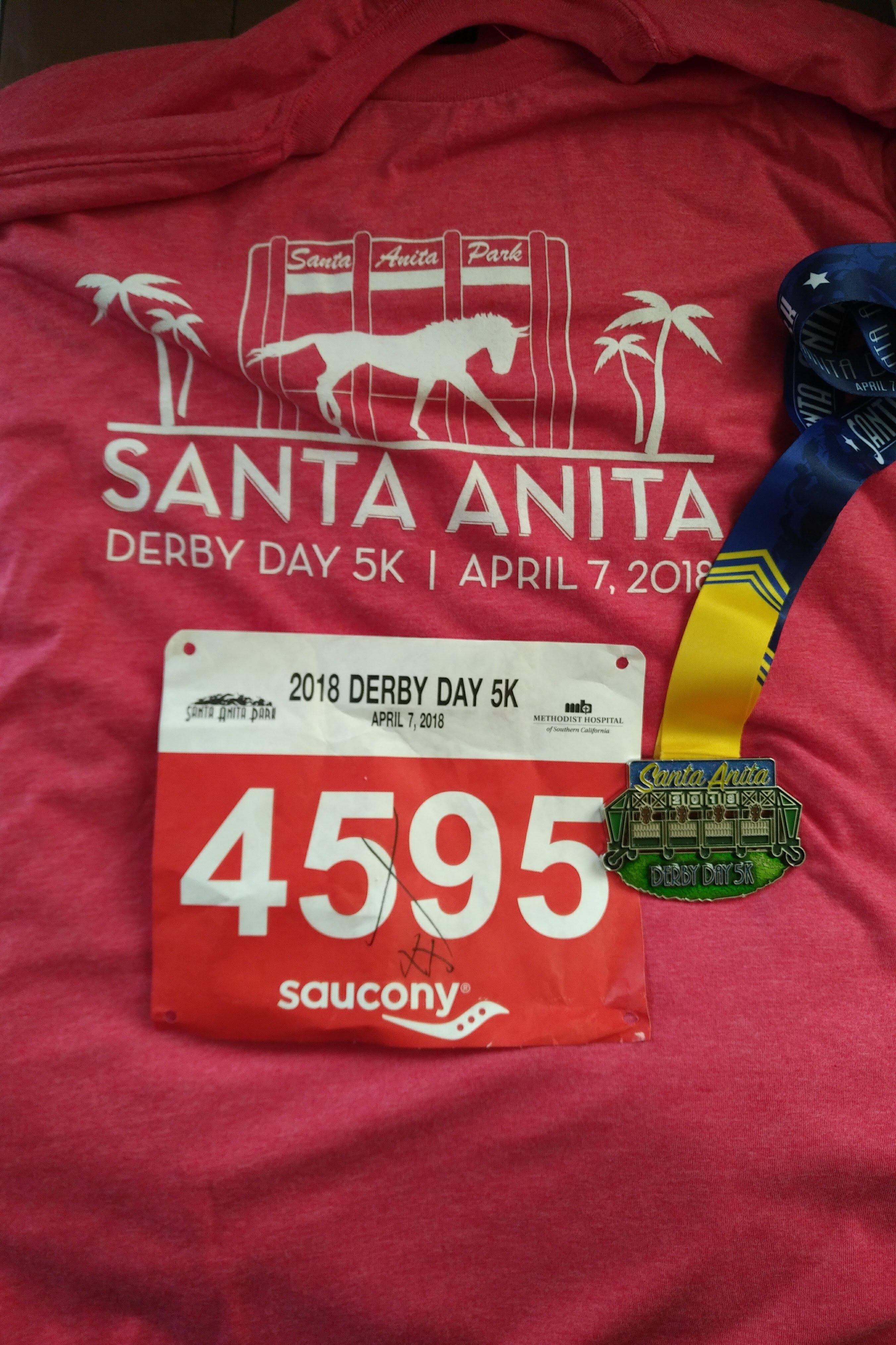 2018 Santa Anita Derby Day 5k