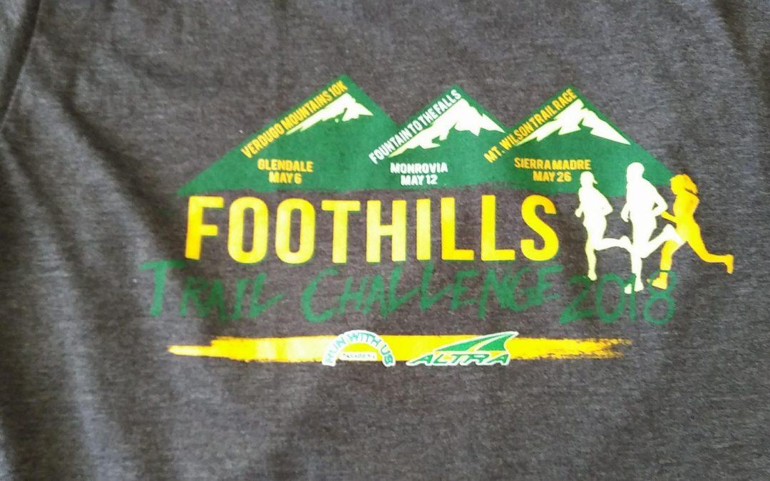 Foothills Trail Challenge 2018