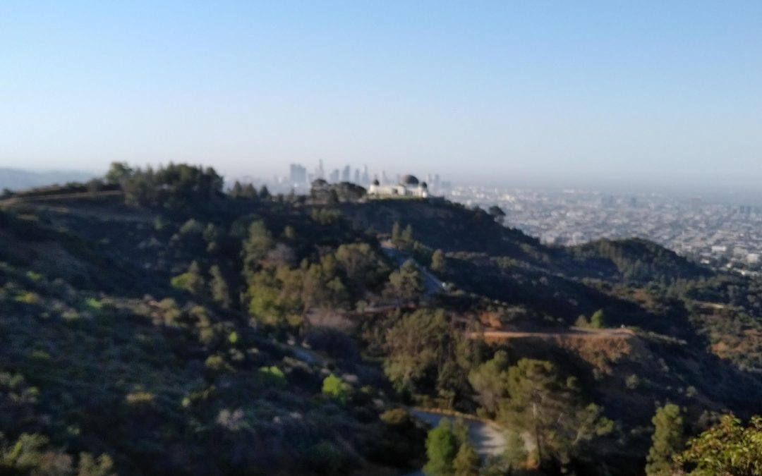 Hiking in Griffith Park 6-2018