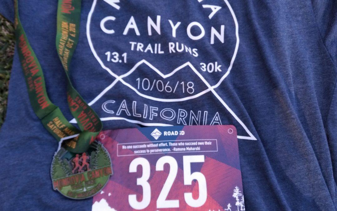 2018 Monrovia Canyon Trail Runs 30k Race Report