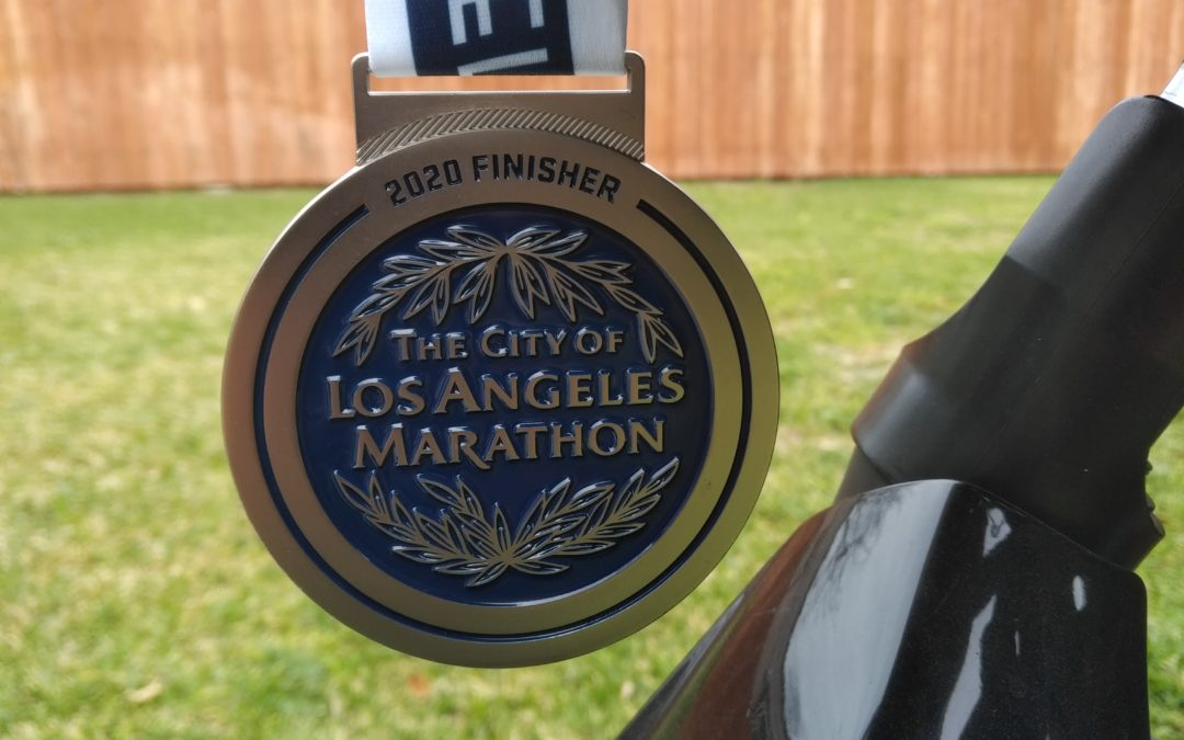 2020 LA Marathon Race Report