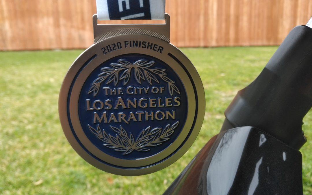 2020 LA Marathon Race Report